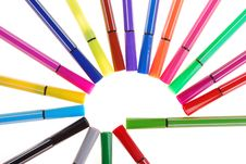 Free Color Pen Royalty Free Stock Images - 15069419