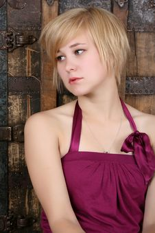 Free Serious Blond Royalty Free Stock Image - 15069466