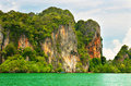 Free High Cliffs On The Tropical Island Stock Photography - 15070812