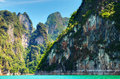 Free High Cliffs On The Tropical Island Royalty Free Stock Photo - 15071345