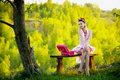 Free Young Woman Posing Outdoors Royalty Free Stock Images - 15072649