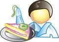 Free Cake Decorator Icon Stock Photo - 15077330