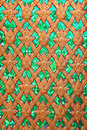 Free Traditional Thai Art  Pattern Stock Photo - 15079730