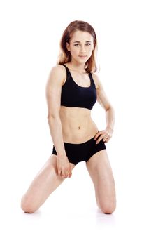 Free Smiling Fitness Woman Royalty Free Stock Photo - 15070115