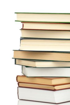 Book Heap Royalty Free Stock Image
