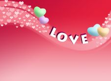 Free Love Card Royalty Free Stock Photography - 15070447