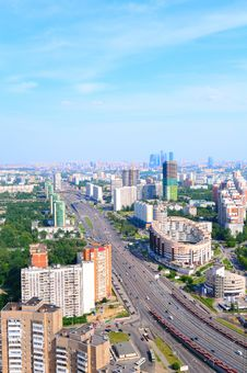 Free View Of Moscow Royalty Free Stock Image - 15070726