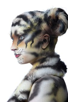 Free White Tigress Stock Photos - 15071983