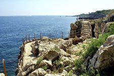 Free Antibes Coast Stock Photography - 15072242