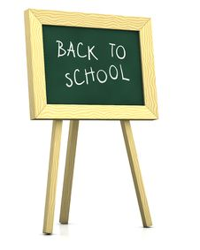 Blackboard - Back To School Stock Photography