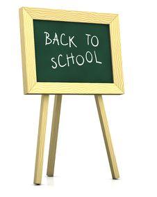Blackboard - Back To School Stock Photography