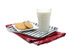 Free Cookies And Milk Stock Image - 15072981