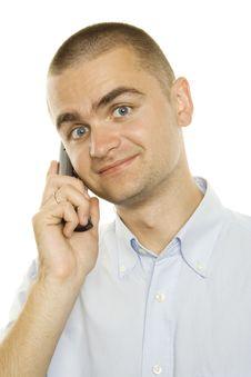 Free Businessman Talking On Phone Stock Photos - 15073073