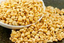 Free Honey Rice Flakes Stock Photography - 15073102