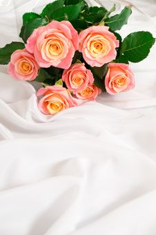 Free Bouquet Of Roses. Stock Photography - 15073772