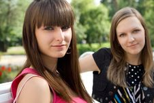 Free Two Female Friends Stock Photos - 15074613