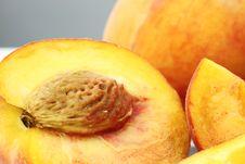 Free Sliced Peaches Stock Photos - 15074993