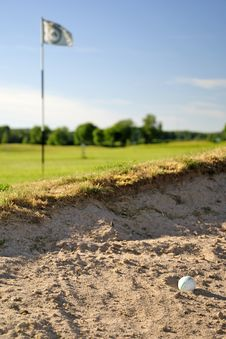 Free Unlucky Golf Shoot Stock Photography - 15075602