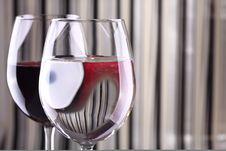 Free Wine Glasses Royalty Free Stock Image - 15076186