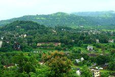 Stunning Khopoli Landscape Royalty Free Stock Images