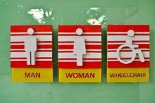 Toilet Icon Stock Photo