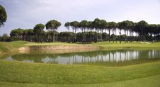 Free Panorama Of Golf Club Royalty Free Stock Images - 15077369