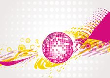 Free Abstract Disco-ball Background Royalty Free Stock Images - 15077889
