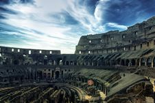 Free Inside Of Colosseum Royalty Free Stock Photo - 15078015
