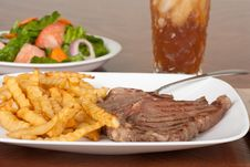 Free Steak Dinner Royalty Free Stock Photo - 15078115