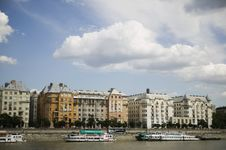 Free Budapest Cityscape From The River Danube Stock Photo - 15078230