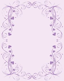 Free Floral Frame For Design, Stock Photo - 15078400