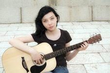 Free Beautiful Brunette Girl Stock Image - 15078681