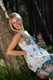 Free Atural Caucasian Blond Woman Portrait Royalty Free Stock Photo - 15078995