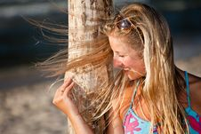 Free Natural Caucasian Blond Woman Portrait Royalty Free Stock Photography - 15079057