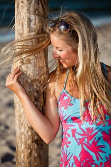 Free Natural Caucasian Blond Woman Portrait Royalty Free Stock Image - 15079066