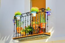 Free Spanish Window Box Stock Images - 15079424