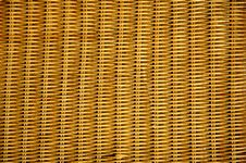 Free Texture Of Rattan Furniture Royalty Free Stock Image - 15079496