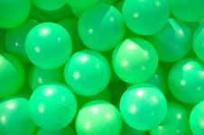 Free Green Funny Balls Royalty Free Stock Images - 15079529