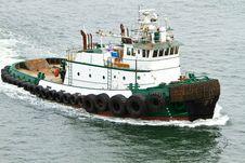 Free Tugboat Royalty Free Stock Image - 15079566