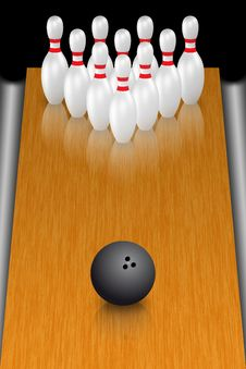 Free Bowling Royalty Free Stock Photos - 15079768