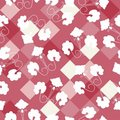 Free Seamless Floral Ornament Pattern Royalty Free Stock Image - 15083236