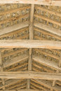 Free Roof Supports And Slate In 13 Th Century Building. Stock Image - 15084951