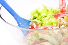 Free Salad Royalty Free Stock Image - 15080066