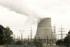 Free Atomic Power Plant Royalty Free Stock Photos - 15080138