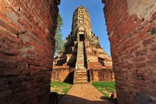 Free Wat Chaiwattanaram In Old Siam Kingdom Capi Stock Image - 15080271
