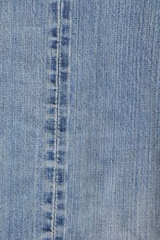 Free Line Texture Surface On Jean Stock Photos - 15081173