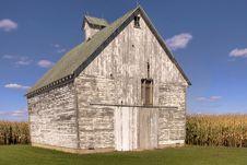 Free White Corn Crib Stock Photo - 15081410