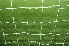 Free Soccer Net Royalty Free Stock Image - 15082496