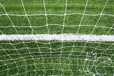 Free Soccer Net Royalty Free Stock Image - 15082516