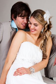 Free Affectionate Young Couple Royalty Free Stock Photography - 15083157